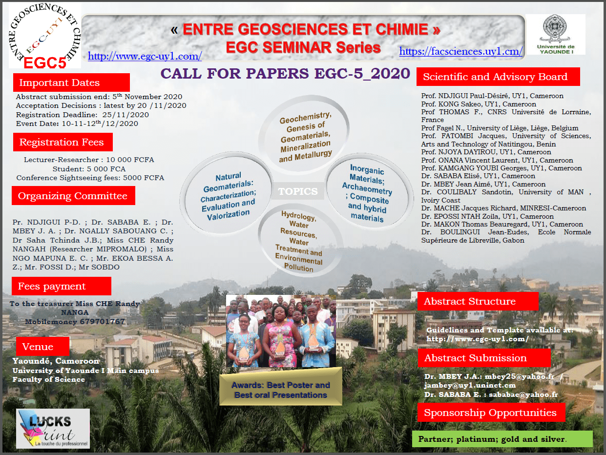 Call for Abstracts EGC-5