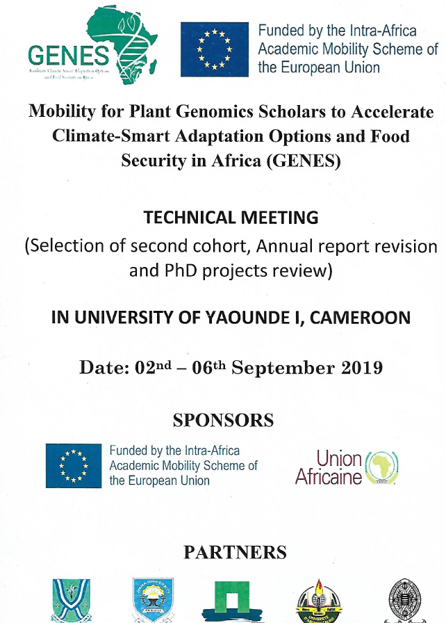 Mobility for plant genomics scholars to Accelerate Climate-Smart Adaptation Option and food Security in Africa